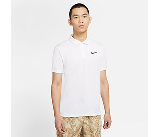 Nike Court Dri-FIT Victory Polo (M) (White)