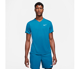 Nike Court DriFit Victory Top (M) (Turquoise)