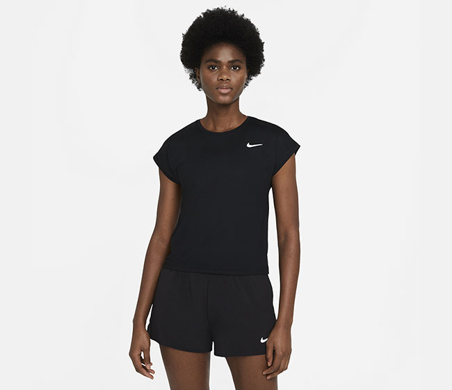 Nike Court Victory Short-Sleeve Tennis Top (W)